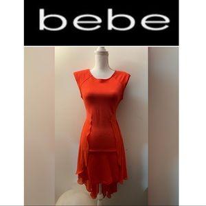 Bebe mullet dress